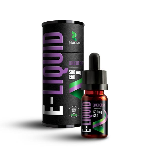 Reakiro CBD E-Liquid 500mg Blueberry