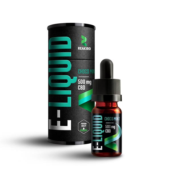 Reakiro CBD E-Liquid 500mg ChocoMint