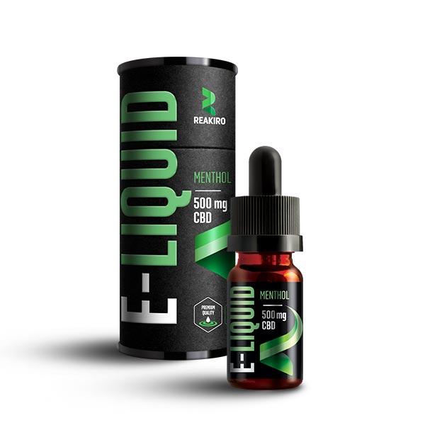Reakiro CBD E-Liquid 500mg Menthol