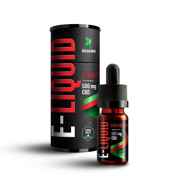 Reakiro CBD E-Liquid 500mg Strawberry