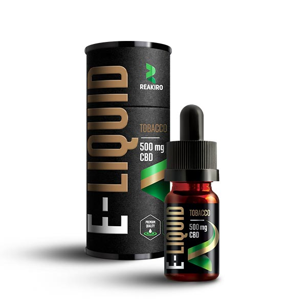 Reakiro CBD E-Liquid 500mg Tobacco