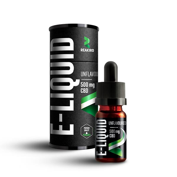 Reakiro CBD E-Liquid 500mg Unflavoured